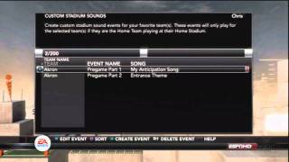 NCAA Football 12 Tips: How to use Custom Stadium Sounds on your PS3