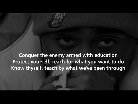 2Pac - Words of Wisdom with Lyrics