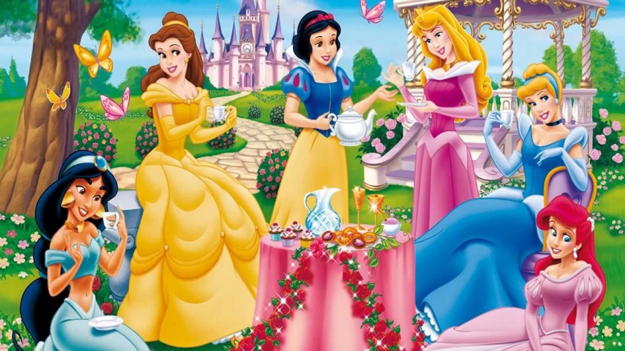 Disney princess images all princess youtube - Image de princesse disney ...