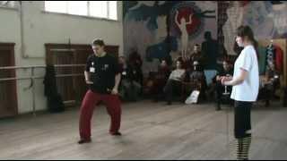 Сценическое фехтование, практикум