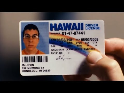 Superbad - hd Fake Mclovin Id