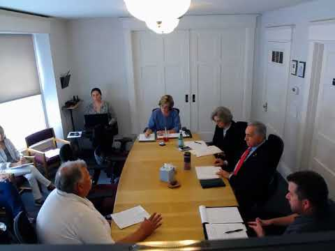 Board of Commissioners Informal Work Session July 17 2018