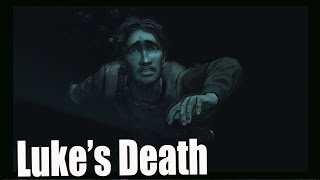 The Walking Dead Season 2 Episode 5 Luke's Death / Luke Death Scene