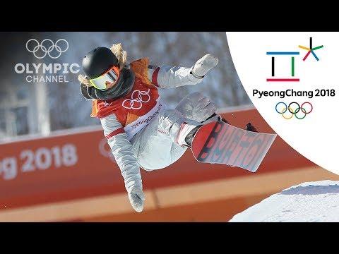 Chloe Kim hits Back-to-back 1080s to win Gold in Women's Halfpipe   Snowboard   PyeongChang