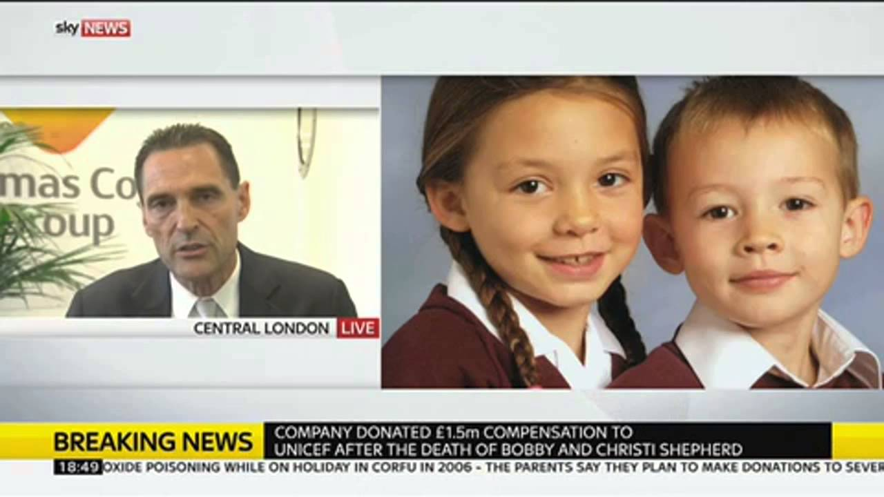 Corfu Deaths: Thomas Cook Boss 'Regrets' Not Apologising To Family
