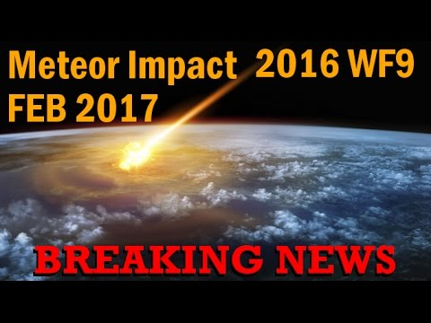 Possible Massive Meteor Impact FEB 2017