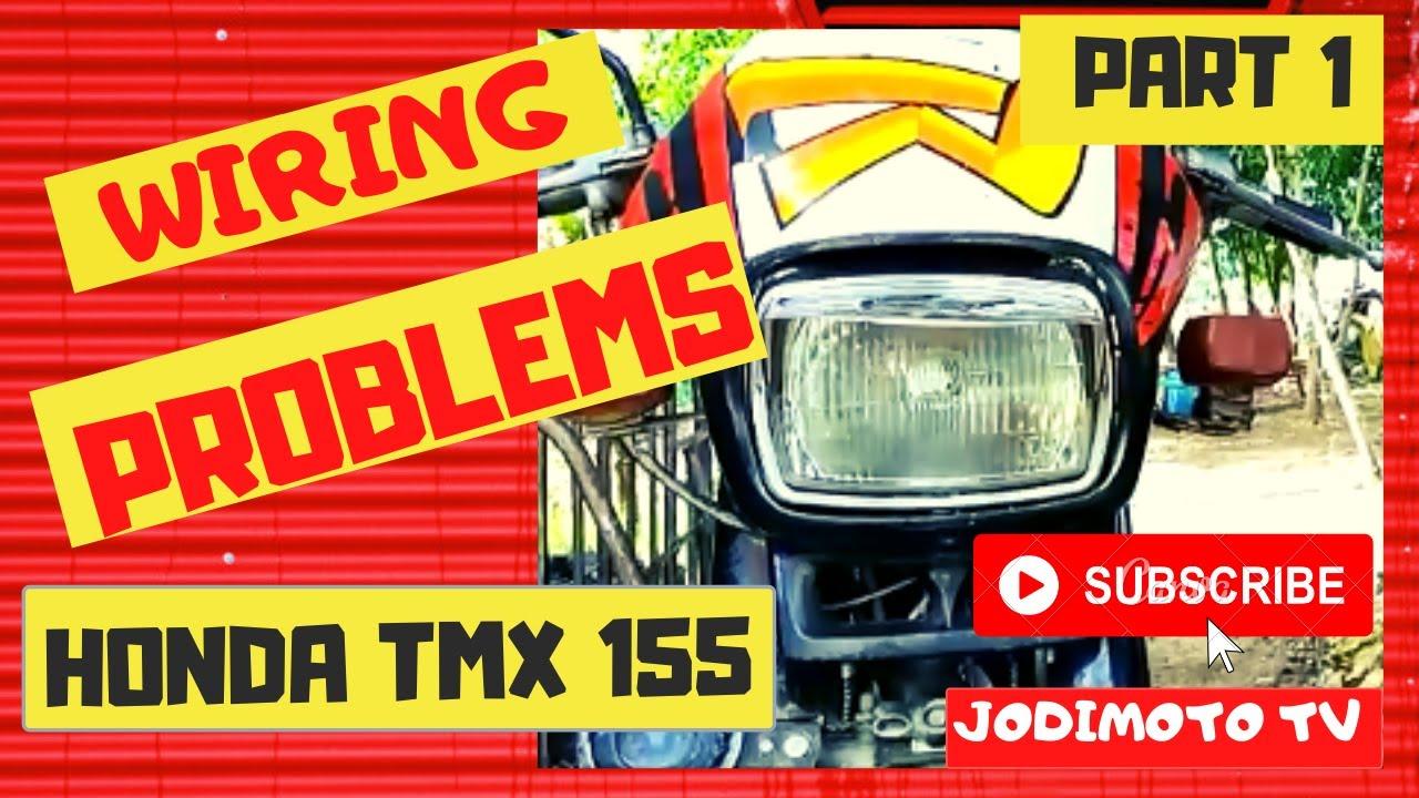 Part 1 Honda Tmx 155 Wiring Restoration And Repair