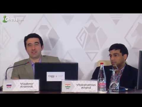 Viswanathan Anand, Vladimir Kramnik Talk About Modern Chess