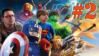 Lego Marvel Super Heroes Video Game: Gaming Part 2(Lego Marvel Super Heroes Video Game: Gaming Part 2 gaming with Arcadius Kul and Sammie Gaming Channel We going to play and make live commentary to ..., 2014-09-06T23:23:33.000Z)