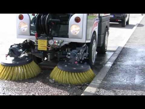 รถกวาดพื้น Sweepers 850 Mini - Dulevo Industrial & Street Cleaning Equipment