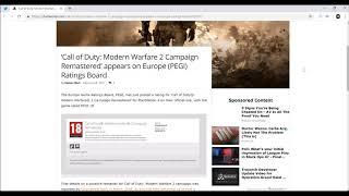 Modern Warfare 2 Remastered Leaked News