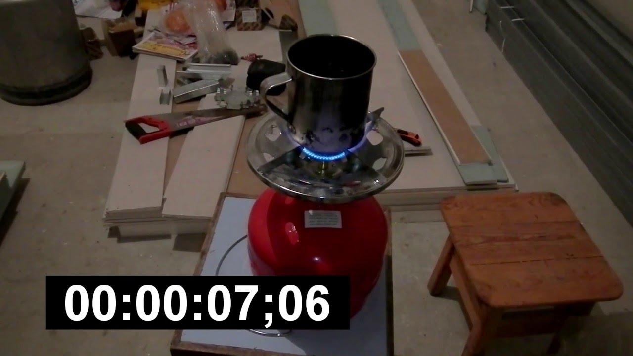 Газовый баллон с горелкой Пикник Italy RUDYY Rk-2 5 литров - YouTube