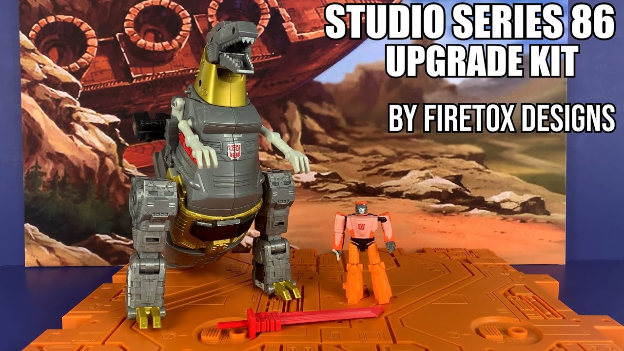 Transformers Studio Series 86 GRIMLOCK Upgrade kit by FIRETOX DESIGNS