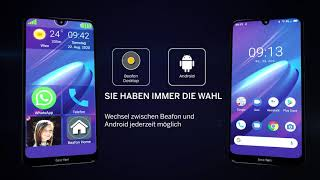 Produktvideo zu Beafon M6s Senioren-Smartphone Schwarz