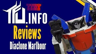 TFU Reviews - Diaclone Marlboor (Marlboro Wheeljack)