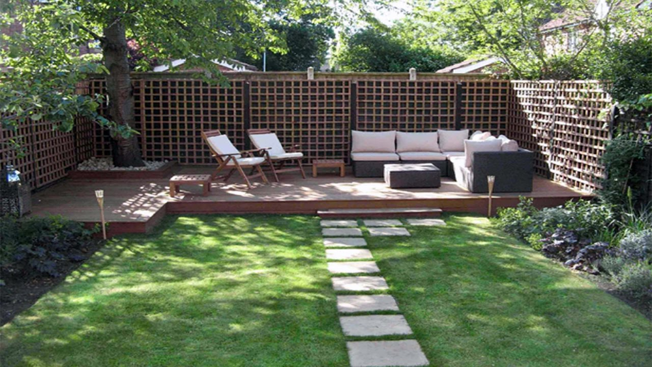 Do-It-Yourself Backyard Ideas For Summer, Better Homes and ... on Diy Garden Patio Ideas id=63596