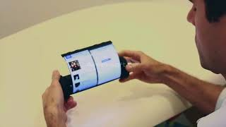 WORLD FIRST ROLLABLE TOUCH SCREEN TABLET!!!!!!
