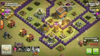 TOP 5   BEST TH8 Attack Strategy for 3 Stars in Clan War after March 2016 update 1280x720