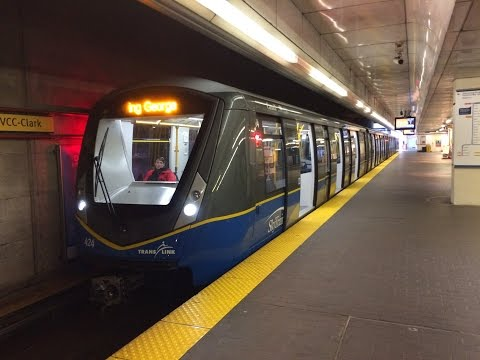 Skytrain's At Waterfront Station