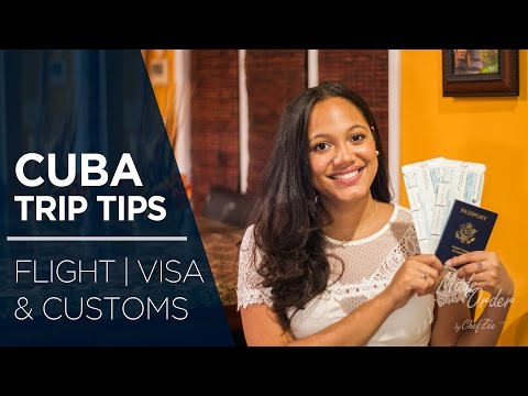 Cuba Trip Tips Ep. 1 How Did I Get There? | Flight, Visa, & Customs | Made To Order