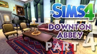 The Sims 4 House Building: Downton Abbey / Highclere Castle - Part 4 - (Real Time)