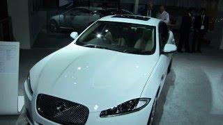 Jaguar XF in India at Delhi Auto Expo 2012