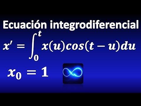 303. Ecuación integrodiferencial resuelta mediante convolución y T. de Laplace
