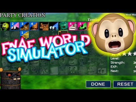 IT'S A FULL GAME NOW!! | FNAF World Simulator