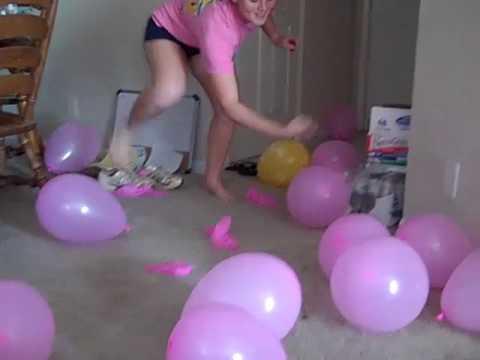kortney pop balloons youtube. Black Bedroom Furniture Sets. Home Design Ideas