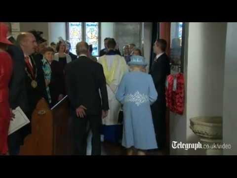 Queen welcomed to Enniskillen