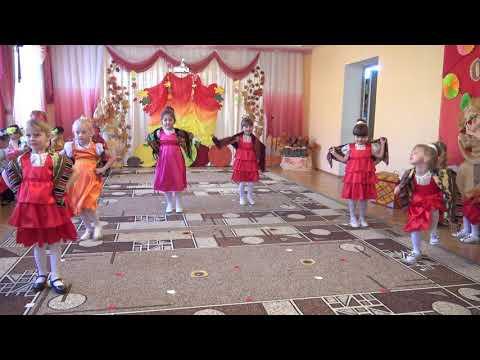 """Танец с платками """"Маков цвет"""" в детском саду (ст.гр. 5-6 лет)"""