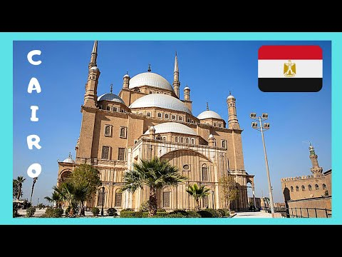 EGYPT, the 12th century medieval ISLAMIC CITADEL (FORT) in CAIRO, what to see