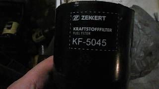 Фильтр дизельный Zekkert, качество ???