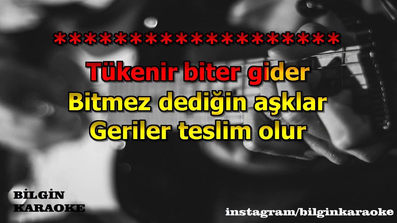 Yıldız Tilbe - Sevdanın Tadı (Karaoke) Türkçe