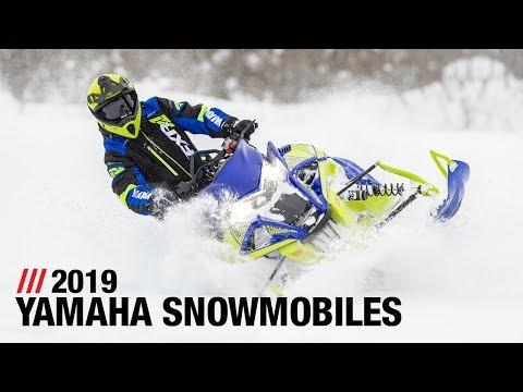 2019 Yamaha Snowmobiles - Full Line