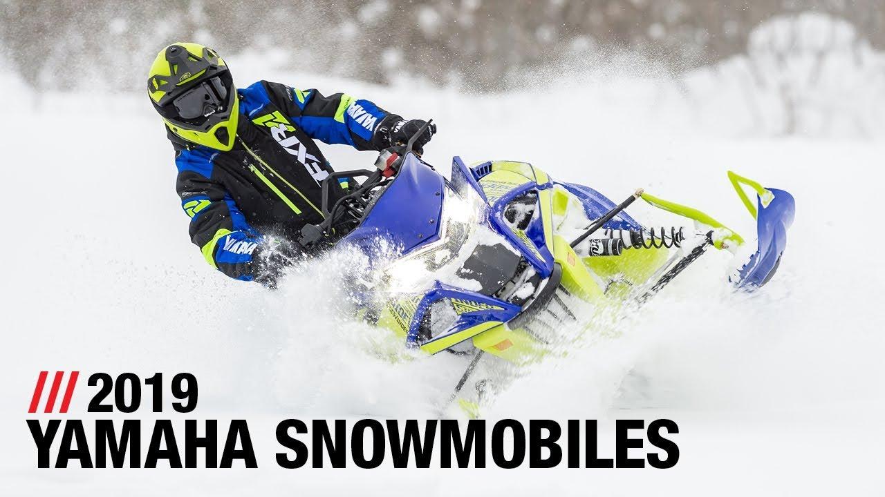 2019 yamaha snowmobiles - full line - youtube