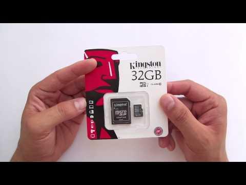 Карта памяти MicroSDHC 32Gb Kingston Class 10 адаптер SD