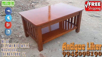 Center Table Coffee Table And Teapoy Models Youtube