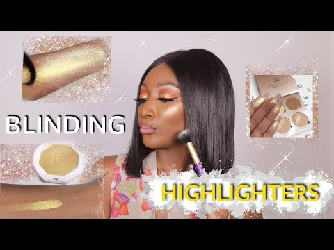 TOP HIGHLIGHTERS FOR DARK SKIN - MUST HAVE HIGHLIGHTERS !!! streaming vf