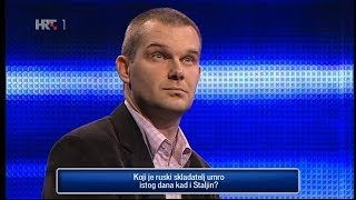 Dario Butković - kviz (Potjera)
