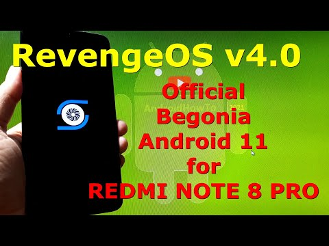 RevengeOS v4.0 Android 11 Official for Redmi Note 8 Pro Begonia - Custom ROM