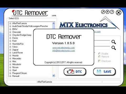 installer DTC remover 2018 full version with crack with new link