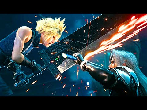 FINAL FANTASY 7 REMAKE All Cutscenes Full Movie HD