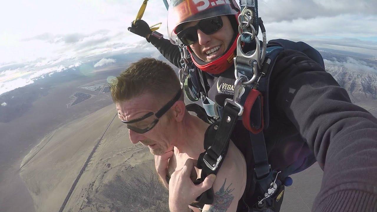 Naked Skydive Las Vegas December 2015 - YouTube