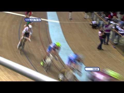 Mens Madison final  - 2013 UCI World Track Championships