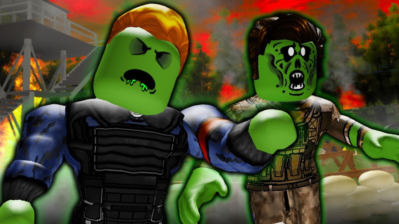 Roblox Zombie Apocalypse Infection Survive The Zombie Invasion They Turned Into Zombies A Sad Roblox Zombie Outbreak Movie Youtube