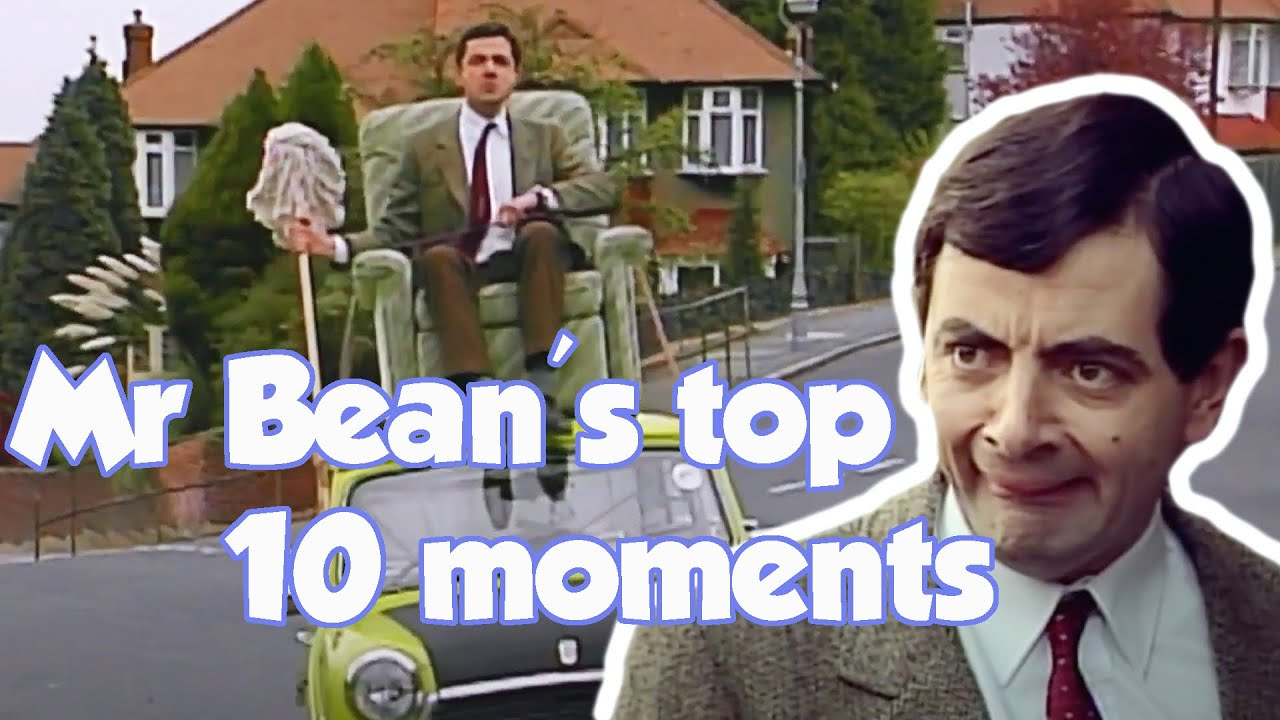 Mr Bean's Top 10 Moments | Mr Bean