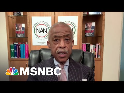 Rev. Sharpton Previews Today's Meeting With Biden, Civil Rights Groups
