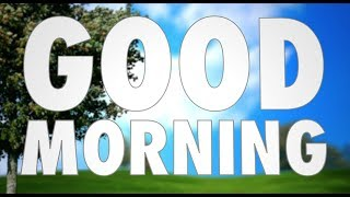 Max Frost - Good Morning - 3D Lyric Video