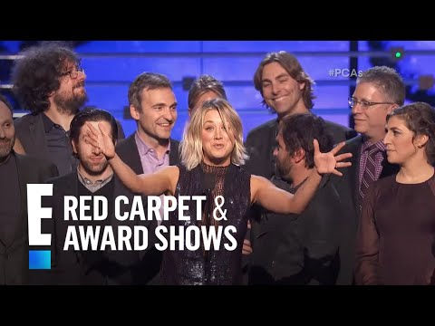 The People's Choice for Favorite Network TV Comedy is The Big Bang Theory